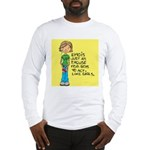 Emo Is Just An Excuse For Boy Long Sleeve T-Shirt