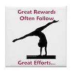 Gymnastics Tile Coaster - Rewards