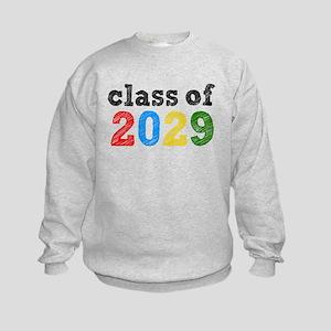 Class of 2029 Kids Sweatshirt
