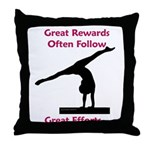 Gymnastics Pillow - Rewards