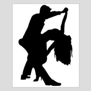 Romantic Couple Dance Poster Design