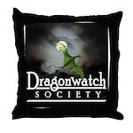 Dragonwatch Throw Pillow