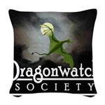 Dragonwatch Woven Throw Pillow