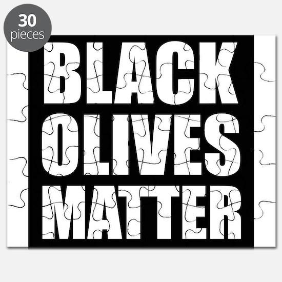 Black Olives Matter Puzzle