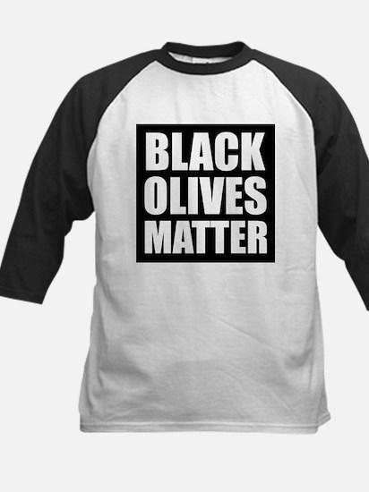 Black Olives Matter Baseball Jersey