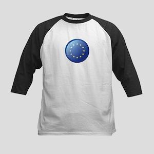 EU BUTTON Kids Baseball Jersey