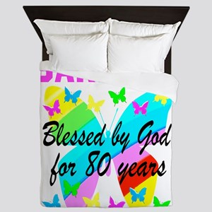 80TH CHRISTIAN Queen Duvet