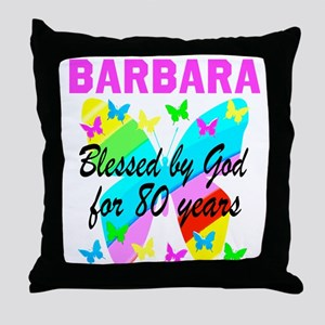 80TH CHRISTIAN Throw Pillow