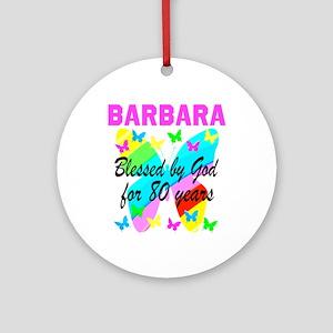 80TH CHRISTIAN Round Ornament