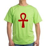Ankh Green T-Shirt