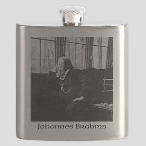 Johannes Brahms Flask