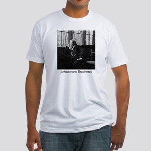 Johannes Brahms Fitted T-Shirt