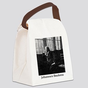 Johannes Brahms Canvas Lunch Bag