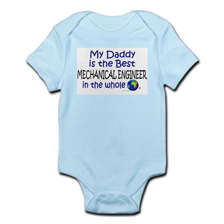 Best Mechanical Engineer (Daddy) Infant Bodysuit