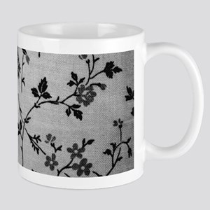 Vintage Black and White Mugs