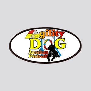 Pit Bull Agility Patch