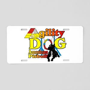 Pit Bull Agility Aluminum License Plate