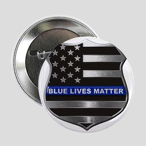"""Blue Lives Matter 2.25"""" Button (10 pack)"""