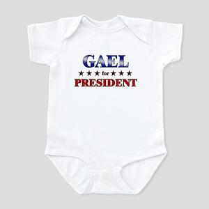 GAEL for president Infant Bodysuit