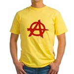 Anarchy Yellow T-Shirt