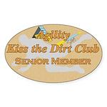 Agility Dirt Oval Sticker