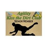 Agility Dirt Rectangle Magnet (10 pack)