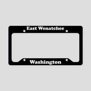 East Wenatchee WA - LPF License Plate Holder