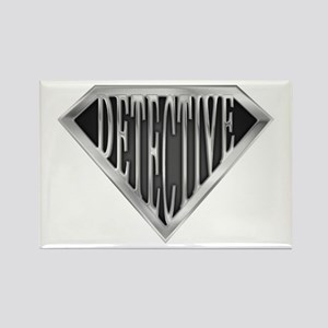 SuperDetective(metal) Rectangle Magnet