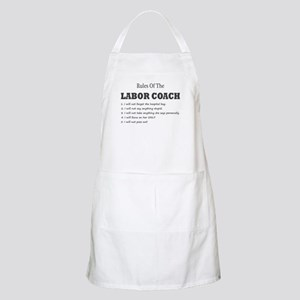 Rules of the Labor Coach Apron