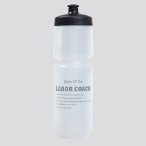 Rules of the Labor Coach Sports Bottle