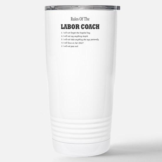 Rules of the Labor Coach Travel Mug