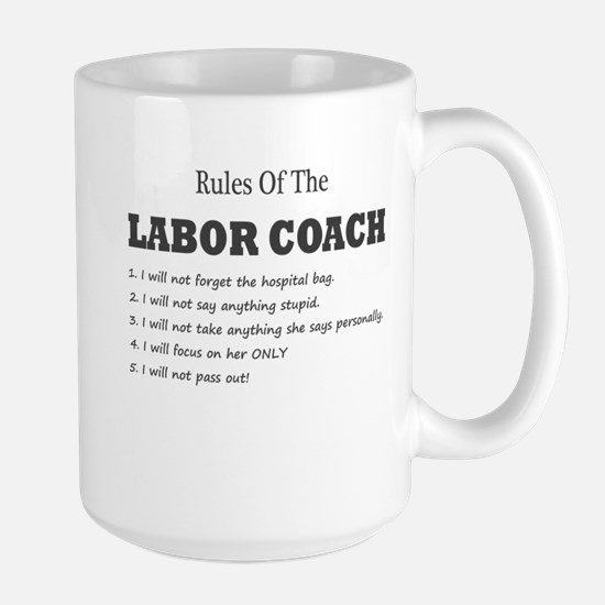 Rules of the Labor Coach Mugs