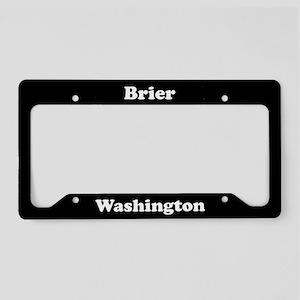 Brier WA - LPF License Plate Holder