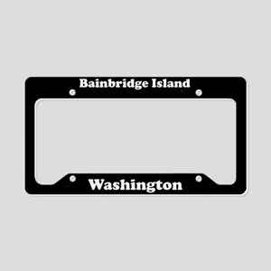 Bainbridge Island WA - LPF License Plate Holder