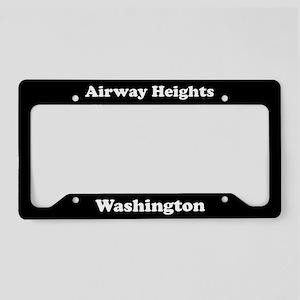Airway Heights WA - LPF License Plate Holder