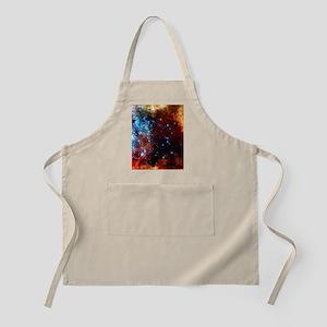 Orange Nebula Apron