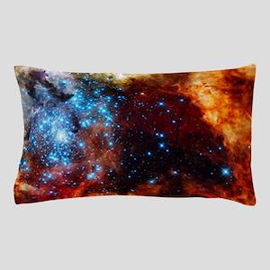 Orange Nebula Pillow Case