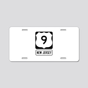 US Route 9 New Jersey Aluminum License Plate
