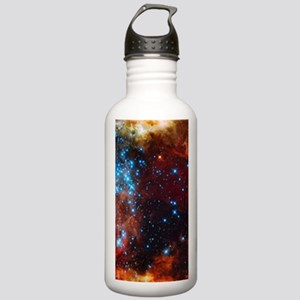 Orange Nebula Stainless Water Bottle 1.0L