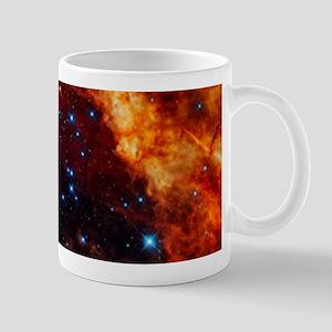Orange Nebula Mugs