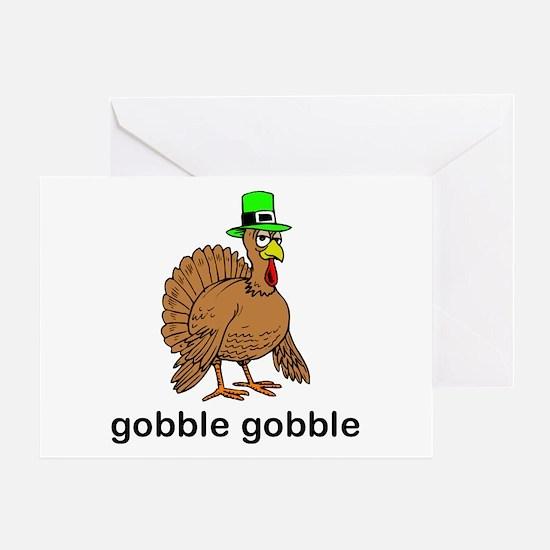 Funny Turkey day Greeting Card