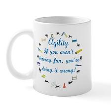 Dog Agility Fun Mug
