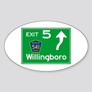 NJTP Logo-free Exit 5 Willingboro Sticker