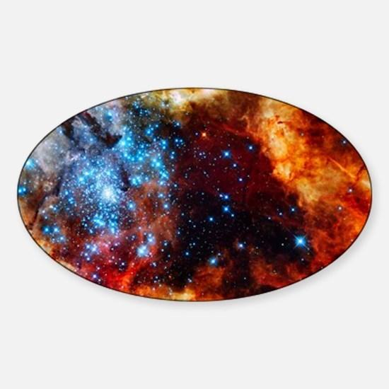 Orange Nebula Decal