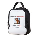 Welcome to Texas! #882 Neoprene Lunch Bag