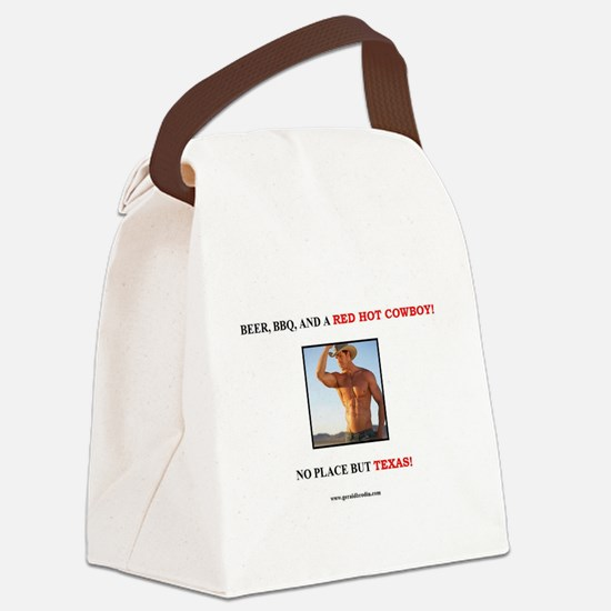 Welcome to Texas! #882 Canvas Lunch Bag