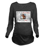 Welcome to Texas! #8 Long Sleeve Maternity T-Shirt