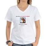 Welcome to Texas! #882 Women's V-Neck T-Shirt