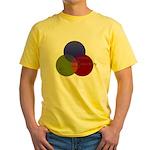 Alcohol-Girls-Responsibility Yellow T-Shirt
