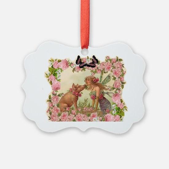 Cute Nouveau Ornament
